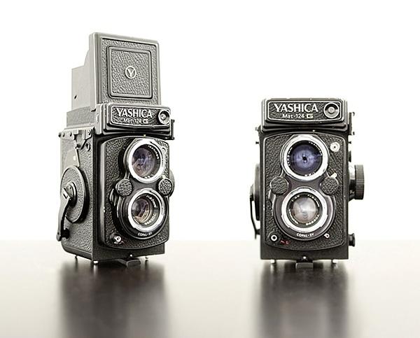 The LOVE of my life... medium format cameras