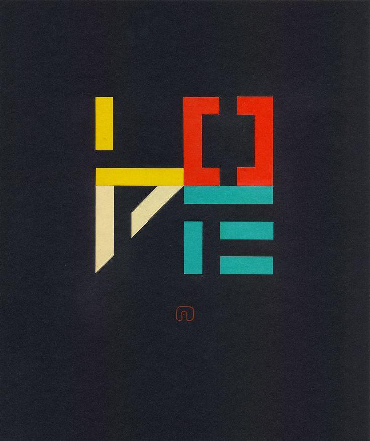 "The Transformation of ""LOVE"" N°03 - 21 x 25 cm / Art by Slavomir Zombek"