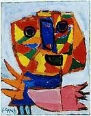 Soon after the end of the Second World War, in 1948, a number of young artists combined forces in the Cobra movement to protest against attempts to restore prewar conditions. Cobra was a passionate 'Cry of Freedom' (the title of a painting by Karel Appel). From the outset, these artists were inspired by a longing for simplicity and originality and they searched for 'first signs', dug up from the subconscious.