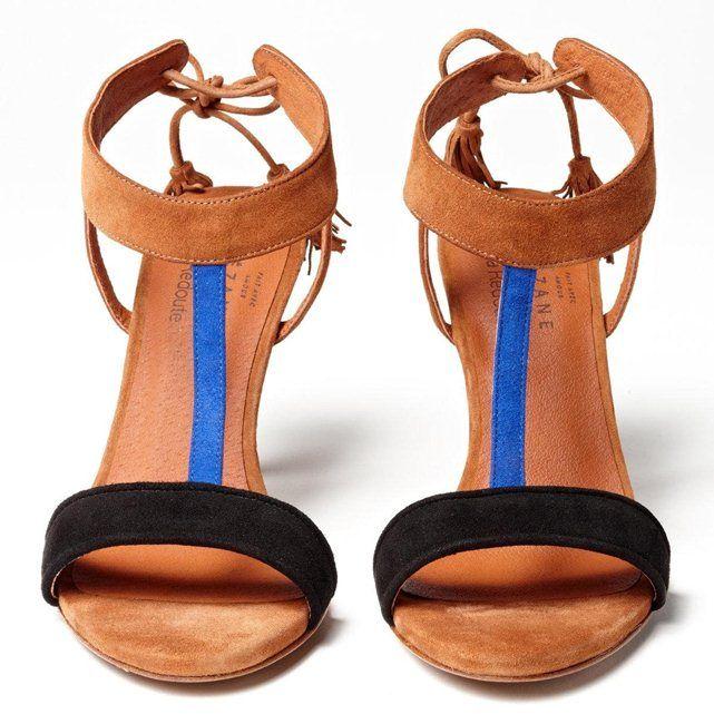 Sandales cuir SEZANE : prix, avis & notation, livraison. Marque : SÉZANE.On fond pour le vestiaire chic imaginé par la créatrice Morgane Sézalory.