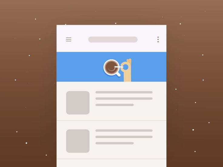 #4 Pull to refresh_Freebie - Coffee Concept by Yup Nguyen