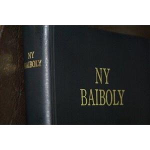 Bible in Malagasy Language / Madagascar Bible / Ny Baiboly / NY SORATRA MASINLA