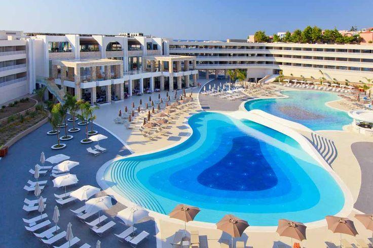 Beautiful pool at Princess Andriana Resort & Spa, Rhodes