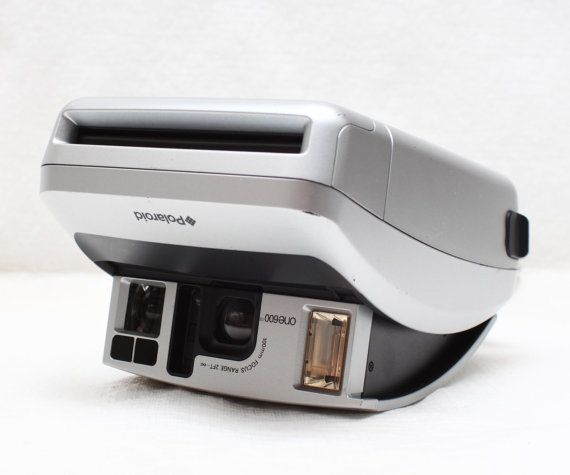 Polaroid One 600 Ultra Instant Film Camera / 2 by LePhotographeNY, $40.00