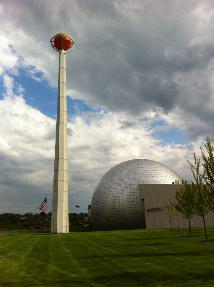 Basketball Hall of Fame, Springfield, Massachusetts.