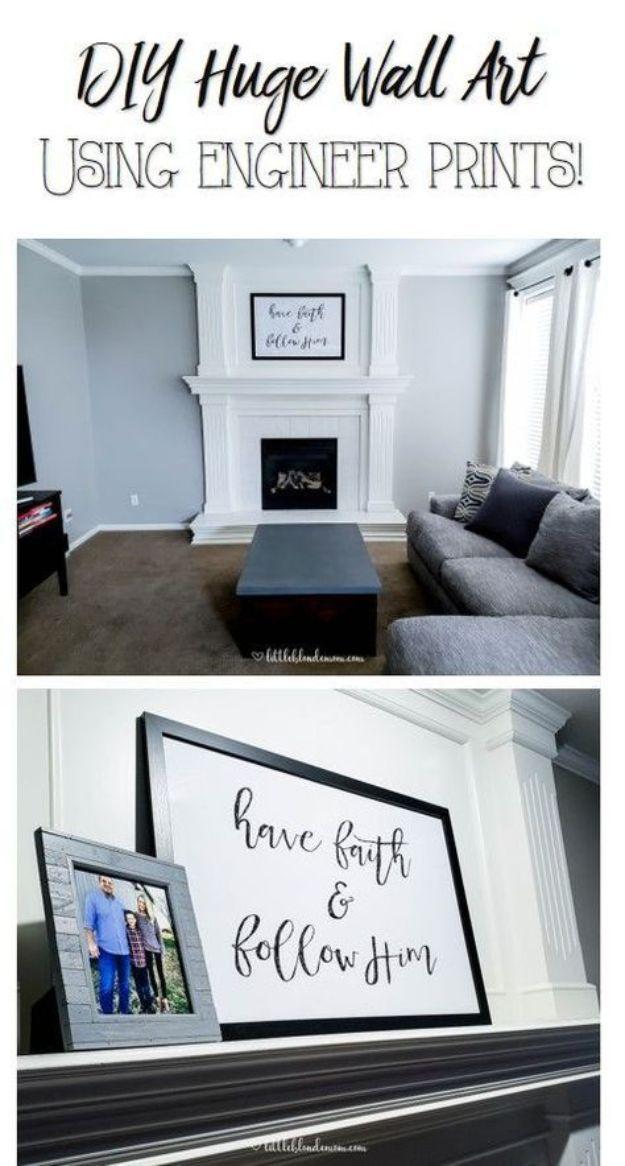 36 Diy Living Room Decor Ideas On A Budget Cheap Wall Decor Diy Living Room Decor Living Room Diy