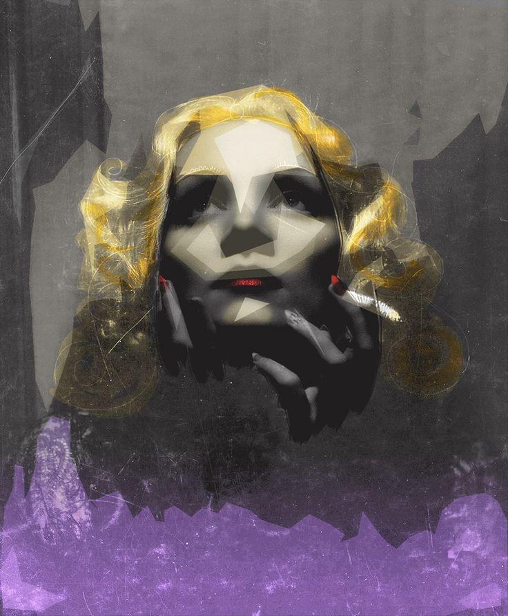 Marlene_Dietrich... dibujo propio