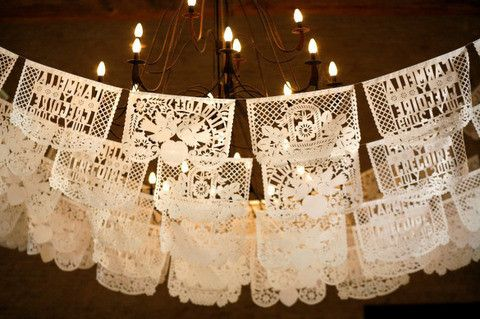 Add a unique flair with his time-honored Mexican wedding decoration that is currently gaining popularity in European countries. Beautiful wedding themed cut outs will give your reception a distinctive