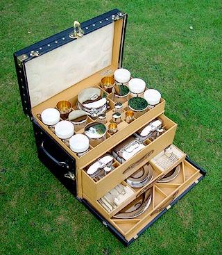 A picnic hamper for the dedicated foodie camper.