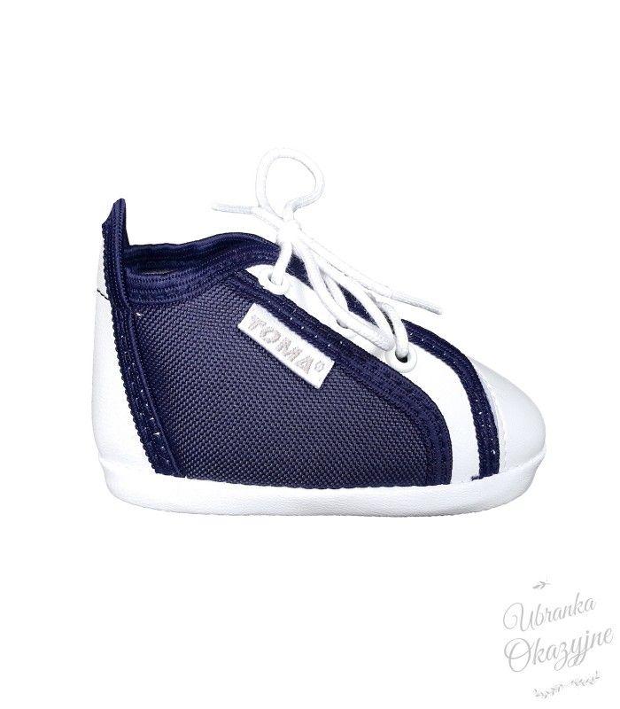 Trampki Granatowe Sneakers Shoes Fashion