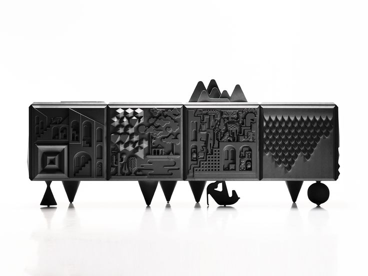 Tout Va Bien Cabinet by Antoine Audiau and Manuel Warosz for BD Barcelona