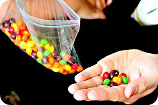 Teaching kids about tithing through skittles (The Parable of the Skittles)