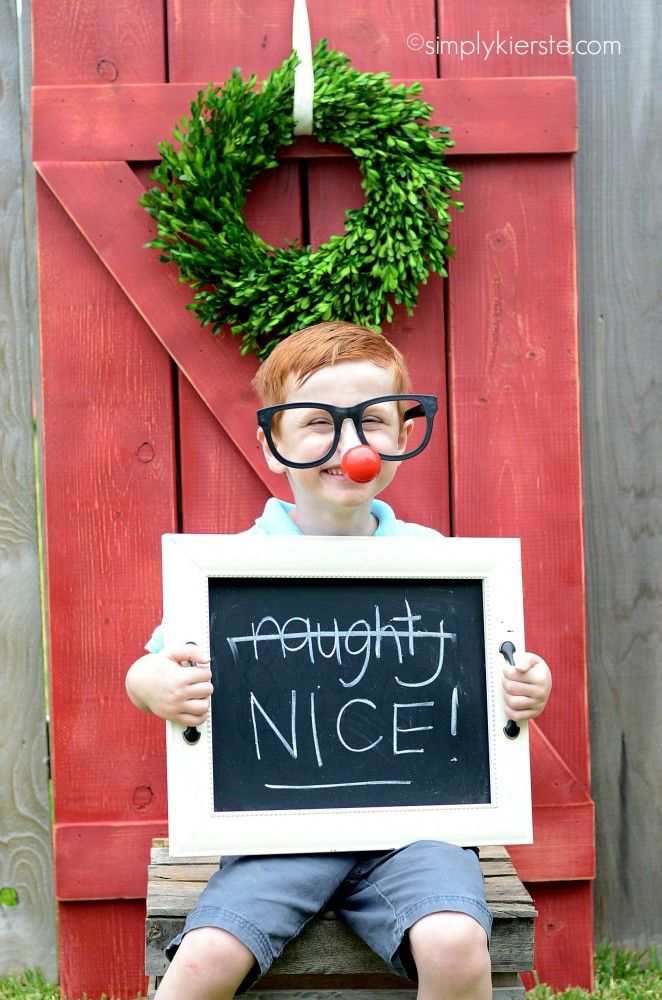 Have a holiday party photo booth!! SO much fun for kids and adults alike! #bgoshbelieve #ad