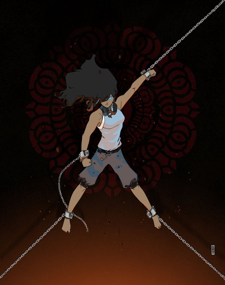 Avatar Korra by danielsingzon on deviantART