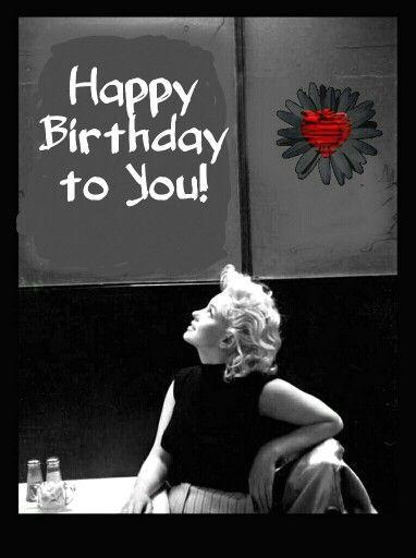 Marilyn Monroe Happy Birthday