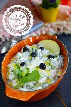 Yeşil Elmalı Semizotu Salatası nasıl yapılır ? Tarifin püf noktaları, binlerce yemek tarifi ve daha fazlası...