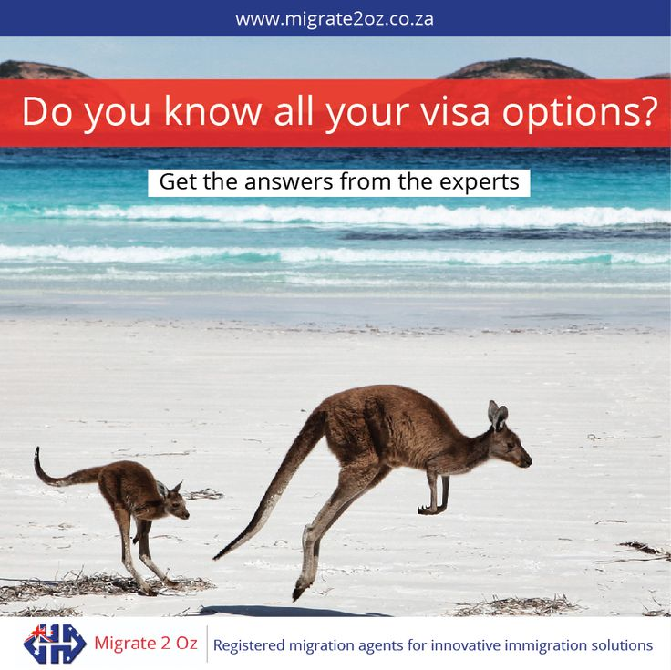 Need a visa to Australia? Get all your visa answers from the expert migration agency in South Africa http://bit.ly/1C7AuYN
