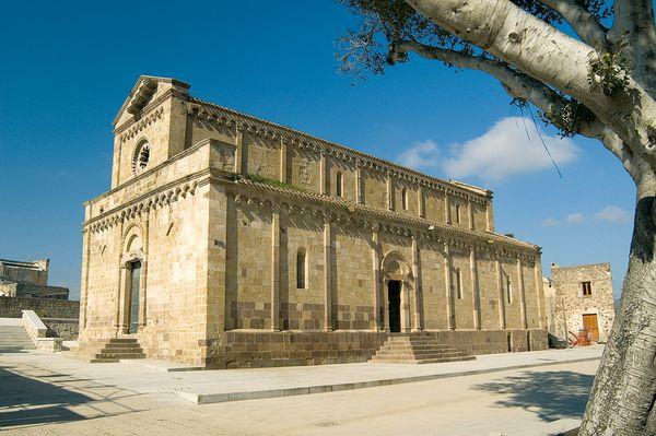 Cattedrale Santa Maria Tratalias, Sardinia