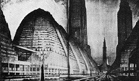 Forecast of the city of the future (1928).