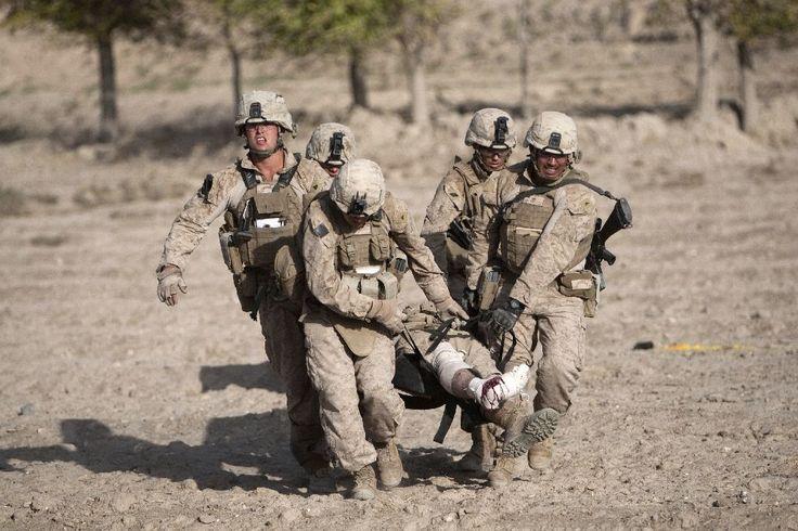 #Marines #return to #volatile Helmand...