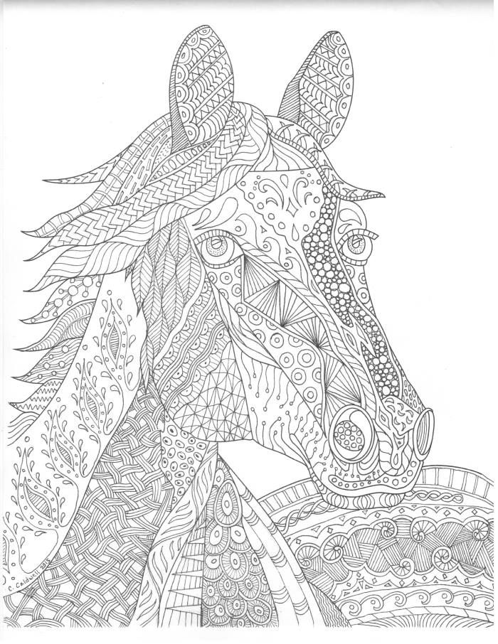 290 best HORSES images on Pinterest | Coloring sheets, Coloring ...