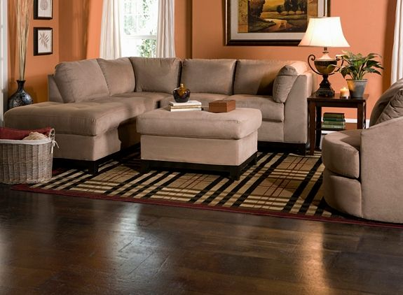 Kathy Ireland Home Wellsley 2 Pc Microfiber Sectional Sofa Sectional Sofas Raymour And Flanigan Furniture Decor Ideas Pinterest Home