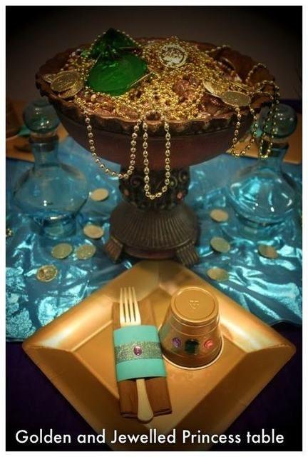 "Photo 1 of 37: Disney Princess Party / Birthday ""Princess Jasmine's Shining, Shimmering Splendid Party for Kryster"" 