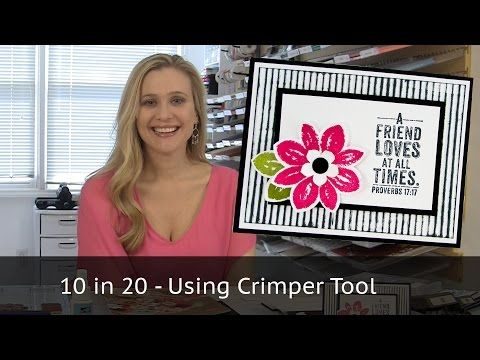 10 cards in 20 minutes - Crimped Background - YouTube