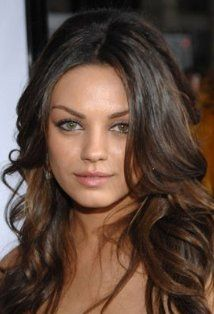 "Mila Kunis, 28.  Filmography includes, ""Black Swan"", ""Forgetting Sarah Marshall"", and ""Friends with Benefits""."