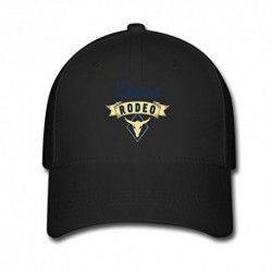 BlackMUKIY Rodeo Logo Design Baseball Caps Sun cap