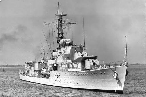 HMS Carron was a C-class destroyer of the Royal Navy, ordered in February 1942