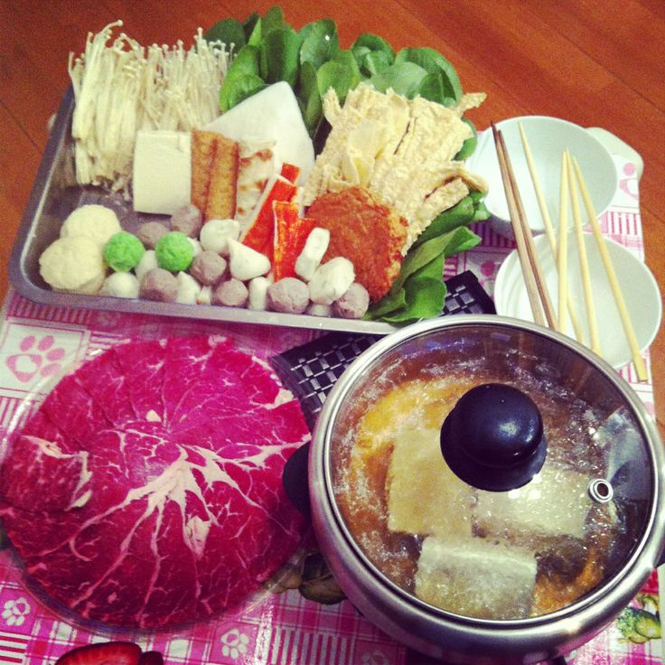 Japanese hot pot, sabu sabu