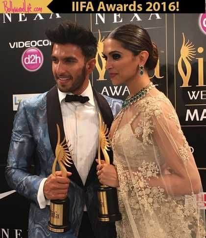 IIFA Awards 2016 update: Ranveer Singh and Deepika Padukone WIN BIG for Bajirao Mastani and Piku respectively!