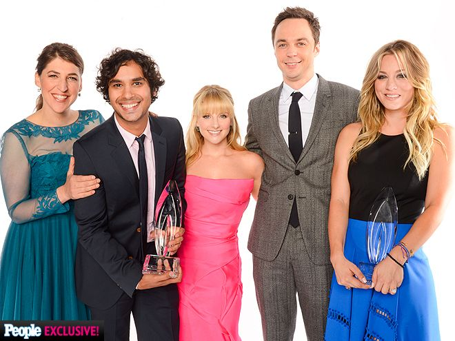 Photo Booth Fun at the People's Choice Awards! | THE BIG BANG THEORY CAST | Mayim Bialik, Kunal Nayyar, Melissa Rauch, Jim Parsons and Kaley Cuoco go out with the ultimate bang inside PEOPLE's photo booth after their sitcom was named favorite network TV comedy.
