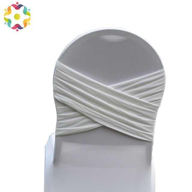 Miraculous Source Factory Back Ruffled Cross Lycra Stretch Elastic Gmtry Best Dining Table And Chair Ideas Images Gmtryco
