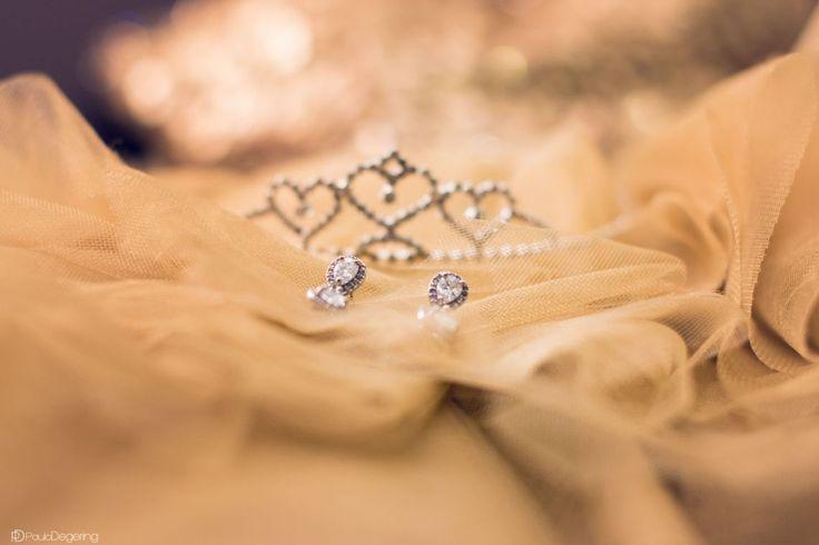 Festa de 15 anos - brincos - tiara - Gabrielle - Paulo Degering Fotografia