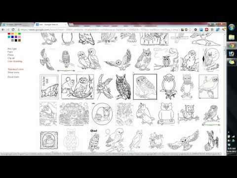 Finding Good Quality Images for Embroidery Digitizing using google image search   BERNINA V6