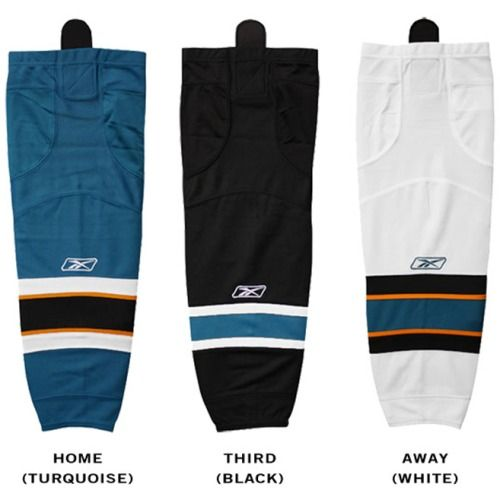 $22.99 San Jose Sharks Reebok Edge SX100 Junior Hockey Socks