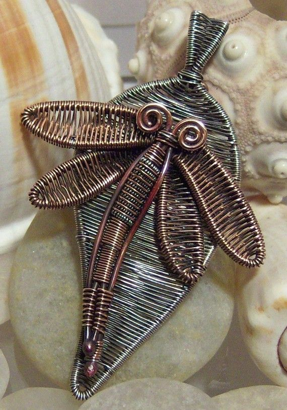 Tutorial - Dragonfly wire weave