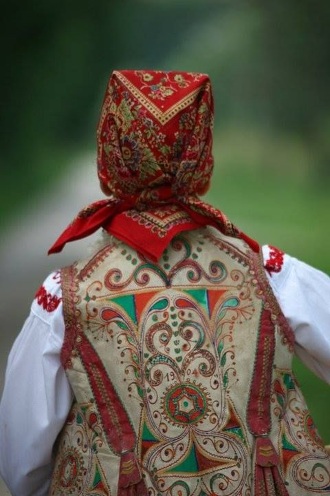 Demerje, Zagorje (Croatia)- another element loved by Zagorje people - waistcoat - a clothing element free for fantasy