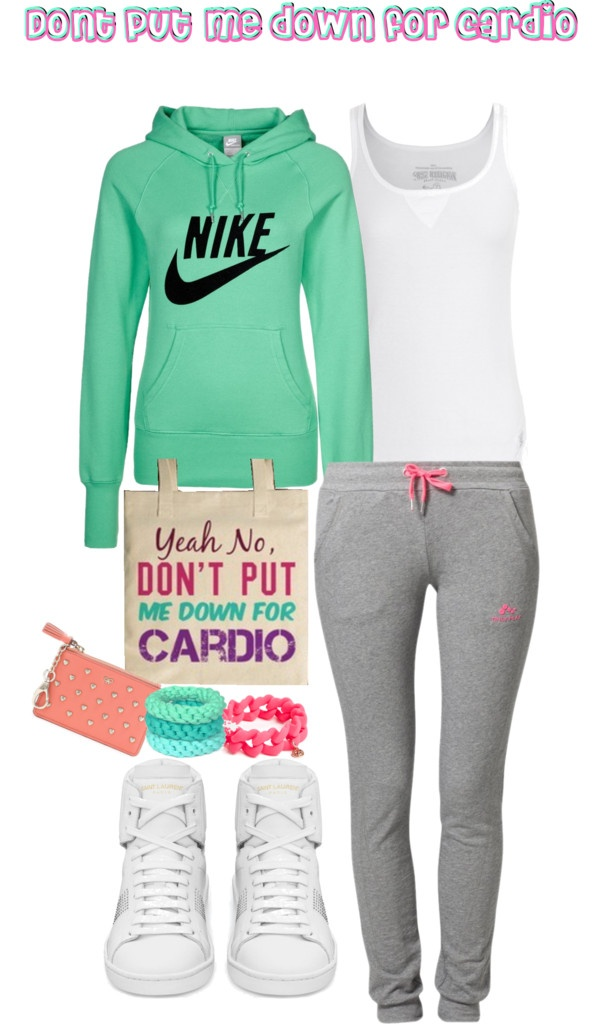 """""""Don't put me down for Cardio"""" by stacyapark on Polyvore"""