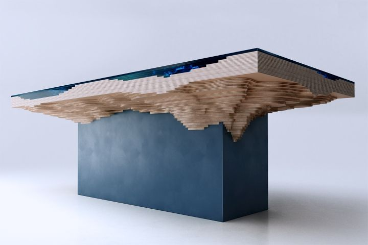 Abyss Dining Table by Duffy London » Retail Design Blog