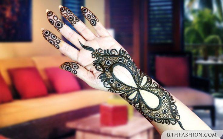2015 Fantastic Arabic Mehndi Designs Images