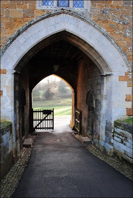 Gateway at Rockingham Castle by Baz Richardson, via Flickr