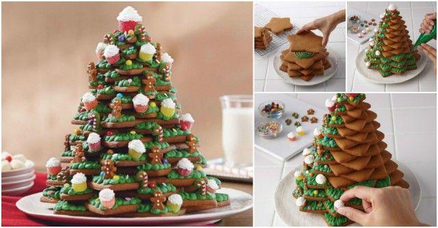 How to DIY 3D Christmas Tree Cookies