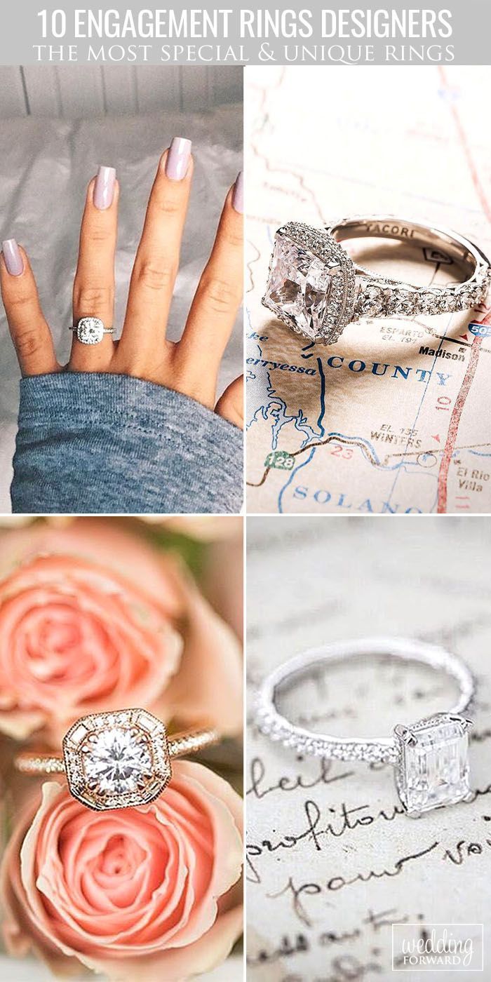 10 Engagement Ring Designers You Must See ❤ The best and the most beautiful diamond engagement rings are created by world designers. Their rings have luxury view and have the best and the highest quality. See more: http://www.weddingforward.com/engagement-ring-designers/ #wedding #engagement #ring #designers
