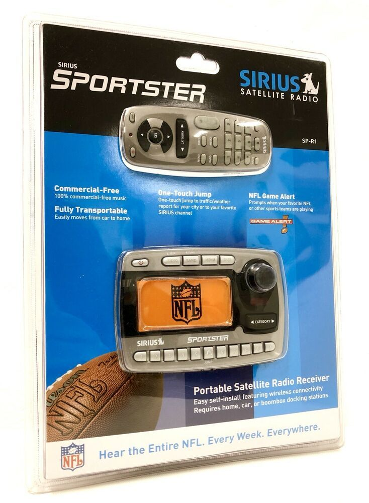 Nfl On Sirius >> Details About Sirius Sportster Sp R1 Satellite Radio Mint Condition