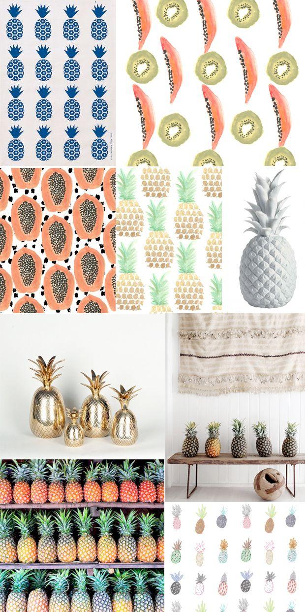 Trend Alert: Pineapples etc.