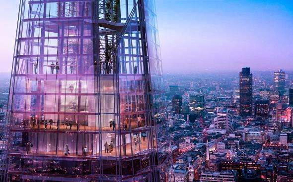 Πύργος Shard, ανεπανάληπτη θέα του Λονδίνου που κόβει την ανάσα!