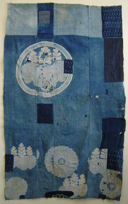 ~ japanese quilt: Japanese Textile, Pattern, Blue Quilt, Japanese Quilts, Folk Textile, Boro Futon, Japanese Boro, Fabric
